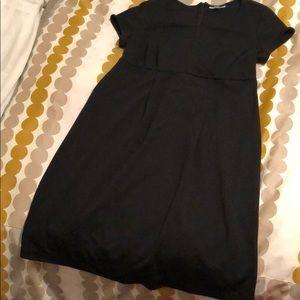 Black maternity dress by Liz L